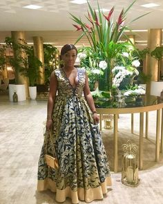 Ankara-Styled Maxi Dress Trending Now for All Body Shape and Size - Beradiva Latest African Fashion Dresses, African Dresses For Women, African Print Dresses, African Print Fashion, Africa Fashion, African Attire, African Traditional Dresses, Look Fashion, Fashion Outfits