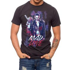 suicide squad t shirts | The Joker and Harley Quinn get all romantic on the Suicide Squad Mad ...