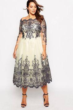 2. Zdjęcie  - Sukienki na wesele - najpiękniejsze propozycje w rozmiarze XL