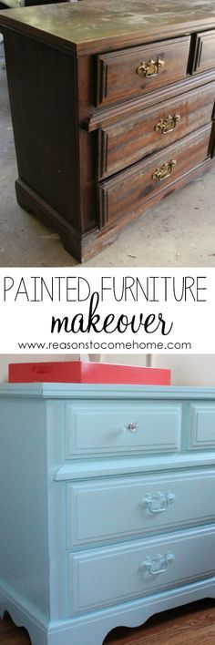 How to Paint Furniture - Reasons to Come Home