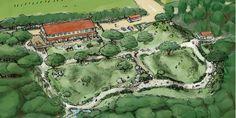 宮崎駿さんが、沖縄県久米島に子供たちの交流拠点を建設する計画を進めている。計画名は『風の帰る森プロジェクト』。
