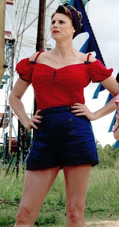 Sexy hillbilly costume