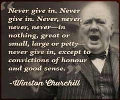 The Churchill School of Adulthood – Lesson #1: Develop a Mighty Moral Code
