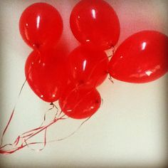I love red balloons