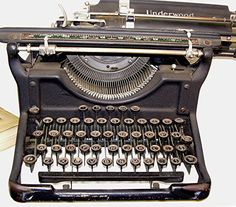 My longing for a type writer is becoming uncanny & I really do regret not getting the one I saw at the thrift store the other day.