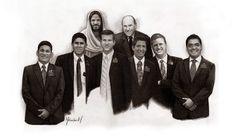 Melvin Lans dibujos y pinturas: Pastores de Israel