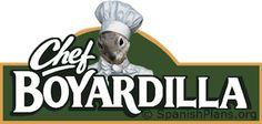 What do you call the most famous squirrel-chef?? Chef Boyardilla! (Stickers)