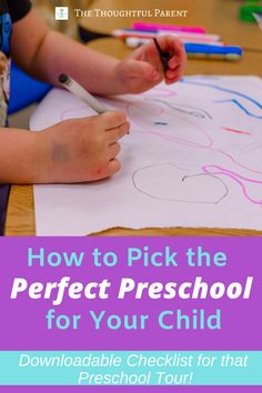 Parents often ask what to look for in a preschool program. A guide for what questions to ask on a preschool tour. Learn why play in preschool is really brain-building and how to pick the perfect preschool for your child. Preschool Education, Preschool Learning Activities, Toddler Preschool, Preschool Activities, Baby Education, Teaching Kindergarten, Play Based Learning, Learning Through Play, Early Learning