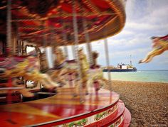 Custom path blur applied to Merry go round in #Photoshop..