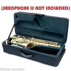 GREAT-GIFT-Alto-Saxophone-Case-w-Handles-Backpack-Shoulder-Straps-CLEARANCE