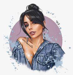 Digital Art Girl, Digital Portrait, Portrait Art, Cartoon Girl Drawing, Girl Cartoon, Cartoon Art, Girly Drawings, Art Drawings, Sarra Art