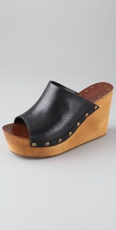 Ash Venus Wedge Slide Sandals