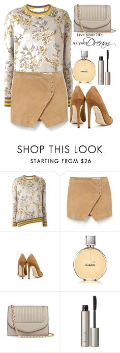 """""""109"""" by erohina-d ❤ liked on Polyvore featuring STELLA McCARTNEY, MANGO, Dee Keller, Chanel and Ilia"""