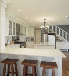 Kitchen Design for Awkward Spaces | Kitchen Designs | Bathroom Renovations - Nouvelle