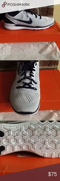 Women's Nike Free 5.0 TR FIT 5 Never worn new in box ..they are navy blue NOT gray..I bought them under the impression they were gray so want buyer to know the true color Nike Shoes Athletic Shoes