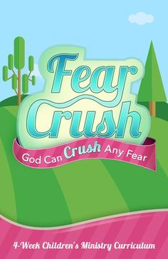 Letting God Crush Your Fear Sometimes we get so overcome with fear, it feels like the fear is crushing us. Instead, we can learn to crush fear by keeping our eyes on God and his love. Kids will learn that God's love crushes our fear. Childrens Ministry Deals, Children Ministry, Bible Lessons For Kids, Memory Verse, Big Hugs, Kids Church, Small Groups, Youth Groups