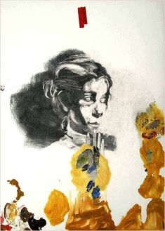 "Saatchi Art is pleased to offer the painting, ""Elena Guro,"" by Kerro Holmberg. Original Painting: Oil, Charcoal on Canvas. Original Paintings, Original Art, Russian Avant Garde, Home Art, Artwork Online, Saatchi Art, Art Prints, Portrait, Abstract"