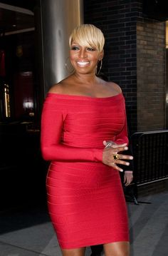Nene Leakes you're rockin' that RED dress!
