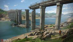 ArtStation - Rust Bridges, Howard Schechtman