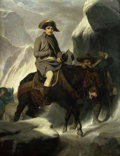 """A much more """"likely"""" version of Napoleon crossing the alps!"""