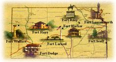 Historic Forts of Kansas...always wanted to visit all of them...think I only made it to two.
