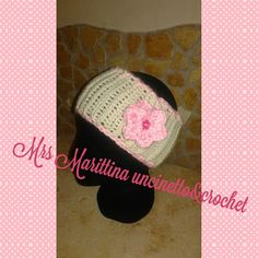 Mrs Marittina Uncinetto&Crochet: Cappelli e accessori vari - baby crochet wool band