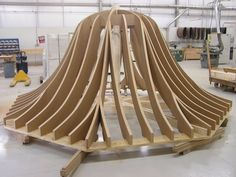 Gazebo Roofs | Gazebo Roof Structure In Shop | Lantz Custom Woodworking