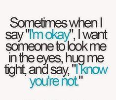 It's me: Sometimes......
