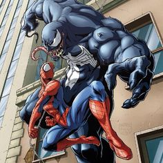 #Spiderman vs #Venom