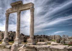 Laodicea - Turkey. Ruins of one of the seven churches of Revelation as mentioned in the Bible
