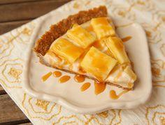 Salted Caramel Pineapple Tart