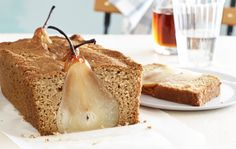 I want to try to make this, doesn't it look cool? Poached Pear Bread