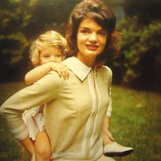"""Amazing shoot by the one and only Jacques Lowe  ❃❤❁❤✾❤✾❤❁❤❃  Jacqueline Kennedy Onassis, (née Jacqueline Lee """"Jackie"""" Bouvier; July 28, 1929 – May 19, 1994), was the wife of the 35th President of the United States, John F. Kennedy, and First Lady of the United States during his presidency from 1961 until his assassination in 1963  http://en.wikipedia.org/wiki/Jacqueline_Kennedy_Onassis        http://en.wikipedia.org/wiki/Caroline_Kennedy"""