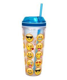 Emoji 16-Oz. Combo Cup Tumbler by Emoji #zulily #zulilyfinds