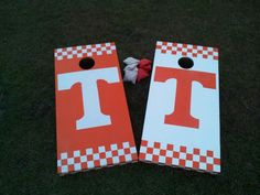 Tennessee cornhole boards