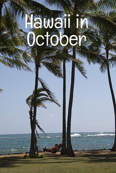 Hawaii October