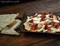 I maccheroni con ricotta zucchine e bresaola sono un fresco e gustoso primo piatto. Completo, semplice, veloce e anche leggero! Assolutamente da assaggiare!