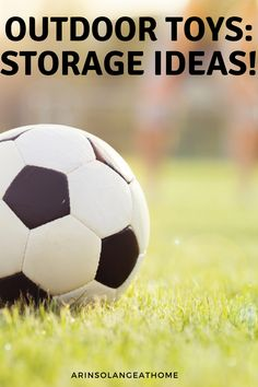 Here are some great ideas for how to store outdoor toys! Bins, baskets, and more for garages and sheds. These ideas will help you organize outdoor and sport gear for kids. Outdoor Toy Storage, Outdoor Toys, 4 Kids, Kids Toys, Toy Organization, Organizing Life, Garage Hooks, Kids Storage, Garages