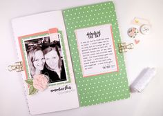 Traveler's Notebook Spread Remember This by Sheree Forcier | @FelicityJane