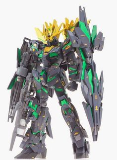 GUNDAM GUY: MG 1/100 Unicorn Gundam 02 Banshee Norn +Armed Armor DE - Painted Build