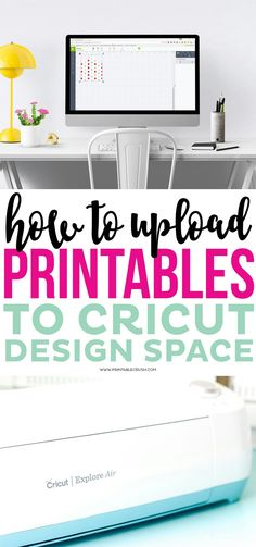 How to Upload Printables to Cricut Design Space