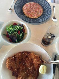 Comida deliciosa no Le Sereno - St. Barths!
