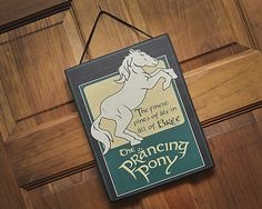 The Prancing Pony. Lord of the Rings by HappyDistraction on Etsy