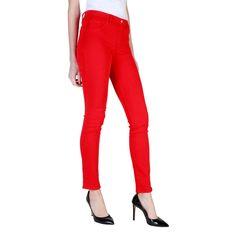 ... Carrera Jeans vêtements - Leg-jeans pour femme, super stretch, coupe  skinny, hauteur régulière du cheval, ceinture élastique pour un confort  extrême, ... 4551db08b67