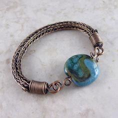 Wickwire Jewelry: Bronze Bracelets and Patinas Rope Jewelry, Etsy Jewelry, Wire Wrapped Jewelry, Jewelry Art, Handmade Jewelry, Jewelry Design, Rope Necklace, Steel Jewelry, Silver Jewelry