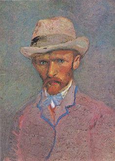 Van Gogh - self-portrait, 1887