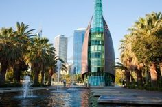 Great job opportunities, efficient health care, well-organized public services, good environment and world-class education system make any city livable. Perth, Good Environment, Public Service, Burj Khalifa, Western Australia, New Zealand, Tower, World