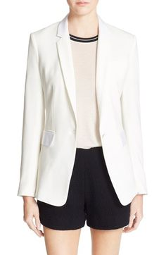 Free shipping and returns on rag & bone 'Windsor' Blazer at Nordstrom.com. Slim notch lapels and front pockets with subtly contrasting flaps style this boxy-cut blazer—a versatile piece that pairs with casual and dressy ensembles alike.