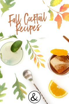 Looking for fall cocktails to try this season? Here is a collection of homemade cocktails to try this fall!