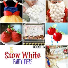 15 Snow White Party Ideas